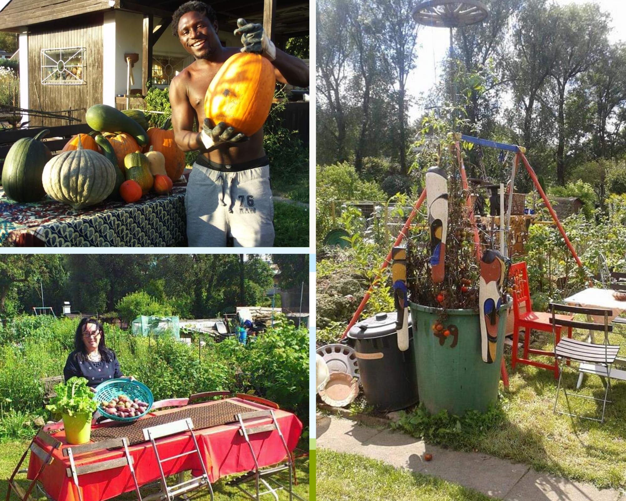 Anna Bignamou - Seed saving intercultural garden in Trier/Germany