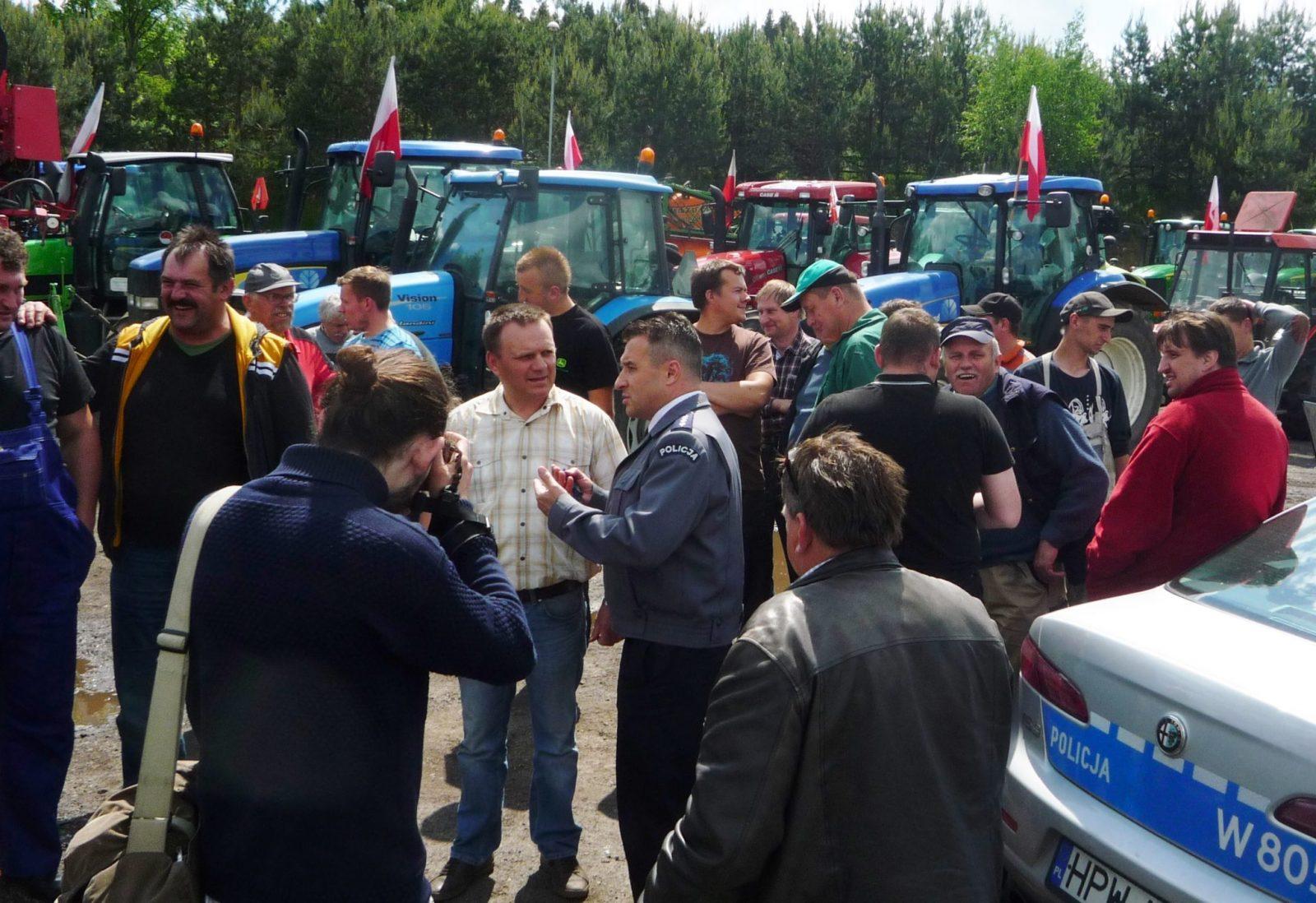 Protest Rolnikow Maj 2013 (1)