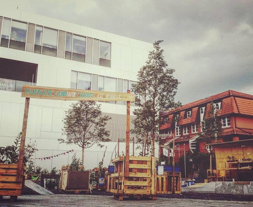 Bäuerliche Landwirtschaft ist Kunst: documenta 14 in Kassel